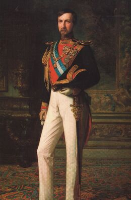 Antonio I de Ecuador, por Franz Xaver Winterhalter (1850)