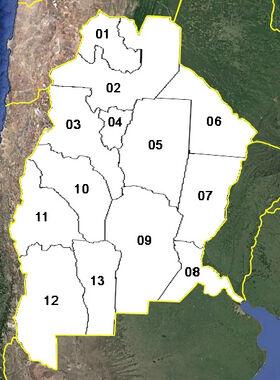 Argentina (mapa político)