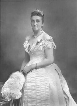 María Isabel de Orleans-Borbón, reina de Quebec