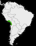 Mapa de Arequipa en Sudamérica