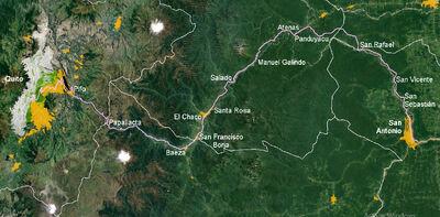 08. Línea del Napo (Quito-San Antonio)