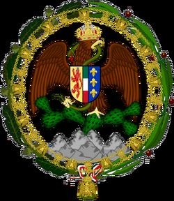 Escudo de la Casa de Habsburgo-Orleans
