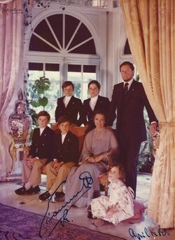 Familia de Carlos I de México (1980)