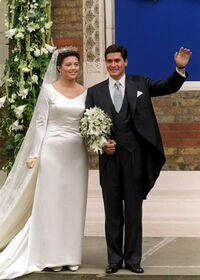 Margarita de Ecuador y Felipe de Selva Florida (boda 01)