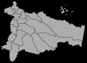Mapa provincial de Ecuador