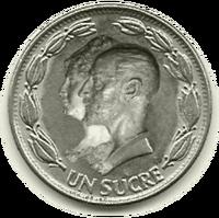 Moneda Antonio y Luisa Fernanda