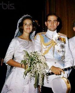 Matrimonio de ÁLvaro II de Ecuador y Chantal de Breton (1967)