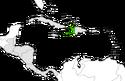 Mapa de Haití en Centroamérica