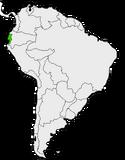 Mapa de Guayas en Sudamérica