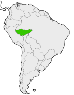 Mapa de Acre en Sudamérica