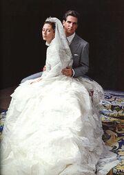 Boda de Alfonso y Ana Luisa de Azuay