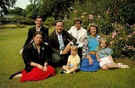 Familia Real de Álvaro II de Ecuador (1990)
