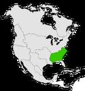 Mapa de Federalia en Norteamérica