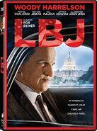 LBJ (Rob Reiner – 2017) DVD front cover