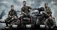 Fury (David Ayer – 2014) banner