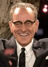 Lyndon B. Johnson played by Bryan Cranston in All the Way