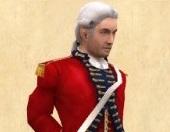 George Washington voiced by Daniel Riordan