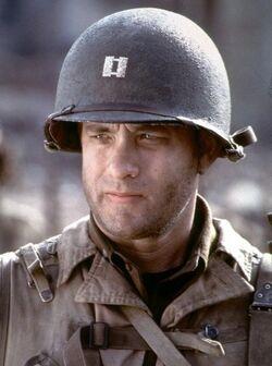 John H. Miller played by Tom Hanks