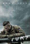 Fury (David Ayer – 2014) poster