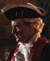 George Washington played by John Arden McClure