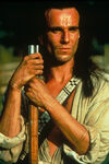 Nathaniel Poe played by Daniel Day-Lewis in The Last of the Mohicans