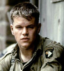James Ryan played by Matt Damon