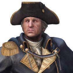 George Washington voiced by Robin Atkin Downes 2