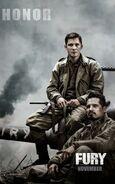 Fury (David Ayer – 2014) poster 2