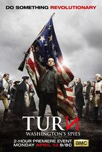 Turn - Washington's Spies Season 2 poster