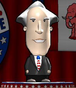 George Washington The Political Machine 2008