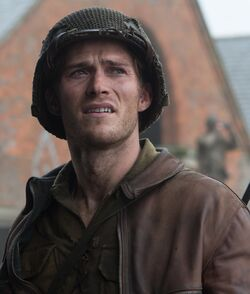 Miles played by Scott Eastwood