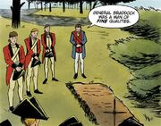 George Washington's speaks about Edward Braddock – Turn - Washington's Spies