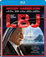 LBJ (Rob Reiner – 2017) Blu-ray front cover