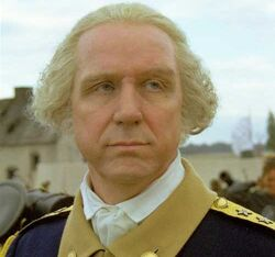 George Washington played by Terry Layman