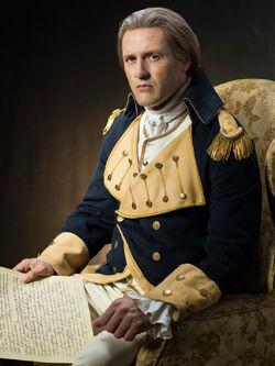 George Washington played by Jason O'Mara 3