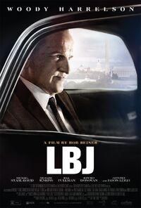 LBJ (Rob Reiner – 2017) poster