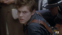 Evan Peters as Kit Walker on American Horror Story Asylum S02E01 6