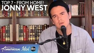 """SMOOTH Jonny West Sings A Sweet Rendition of """"Amazing Grace"""" For His Mom - American Idol 2020"""