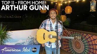 WOW! Arthur Gunn Takes Us Away With Effortless Performance Of John Denver Hit - American Idol 2020