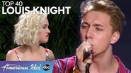 "Louis Knight CHARMS during Top 40 Showcase with ""Castle On The Hill"" - American Idol 2020"