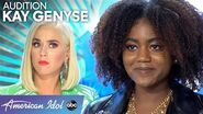 Katy Perry Takes Idol Hopeful Kay Genyse To Perform In The Street - American Idol 2020