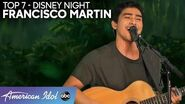 """FRANCISCO MARTIN Performs Effortless Rendition of """"You'll Be In My Heart"""" - American Idol 2020"""