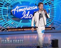 Isaiah Grass American Idol Singing