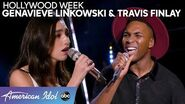 AMAZING Duet Round Performance by Genavieve Linkowski and Travis Finlay - American Idol 2020