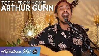 Arthur Gunn AMAZES With Bon Iver Hit From HOME! - American Idol 2020