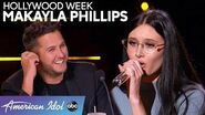 Makayla Phillips Brings STAR POWER to Hollywood Week - American Idol 2020
