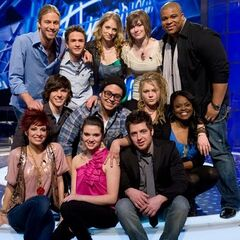 American Idol Season 9 Studio Recording Top 12