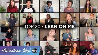 Feeding America PSA with the Top 20 - American Idol 2020