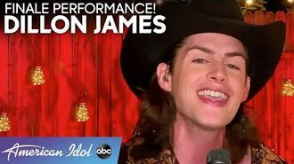 """DILLON JAMES Performs """"The Times They Are A-Changin'"""" - American Idol 2020 Finale"""