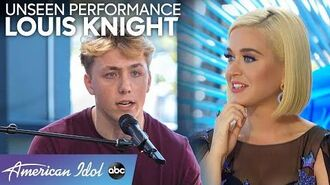 Original Song From Louis Knight Has Judges Believing It's A British Invasion - American Idol 2020